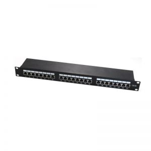 "Panel patch para armario Rack 19"" 1U CAT. 5E STP 24 puertos RJ45 WP - WPC-PAN-5F-24"