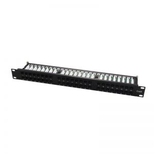 "Panel patch para armario Rack 19"" 1U CAT. 6 UTP 48 puertos HD RJ45 WP - WPC-PAN-6U-48HD"